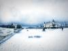 Rambouillet sous la neige