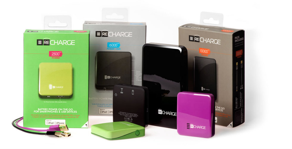 RECHARGE Techlink une batterie nomade