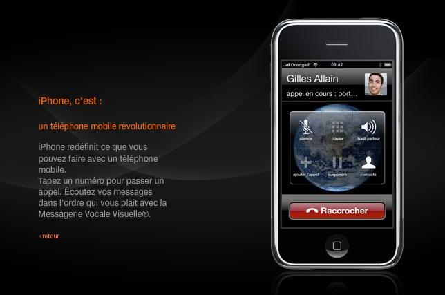 iphone orange messagerie vocale visuelle. Black Bedroom Furniture Sets. Home Design Ideas