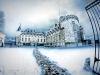 Chateau de Rambouillet sous la neige